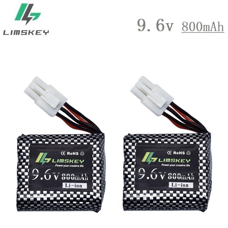 2 stücke Neue Typ Batterie für 9115 9116 S911 S912 RC Auto Lkw Ersatzteile Neue version Upgrade 9,6 v 800 mah 9115 9116 akku