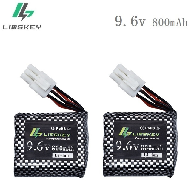 2pcs New Type Battery For 9115 9116 S911 S912 Rc Car Truck Spare Version Upgrade 9 6v 800mah Rechargeable