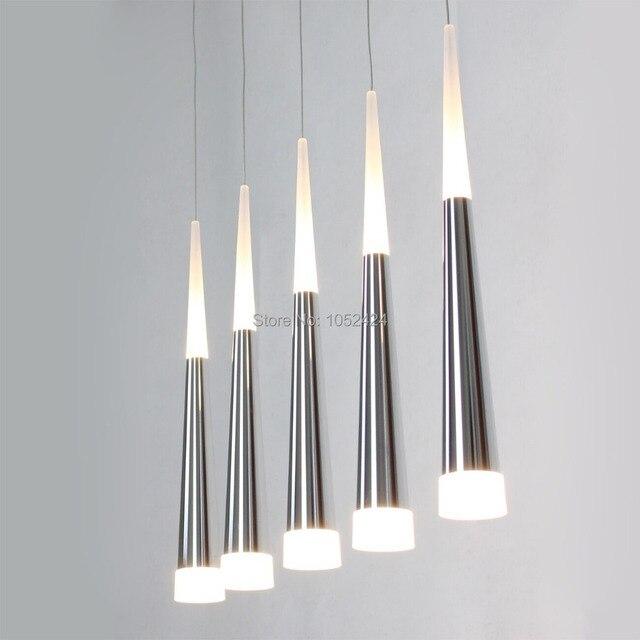 Aliexpress.com : Buy Free shipping Modern Led Pendant Light Long ...