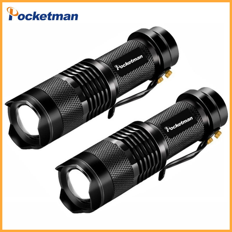 LED Flashlight ZOOM 7W 2000LM...