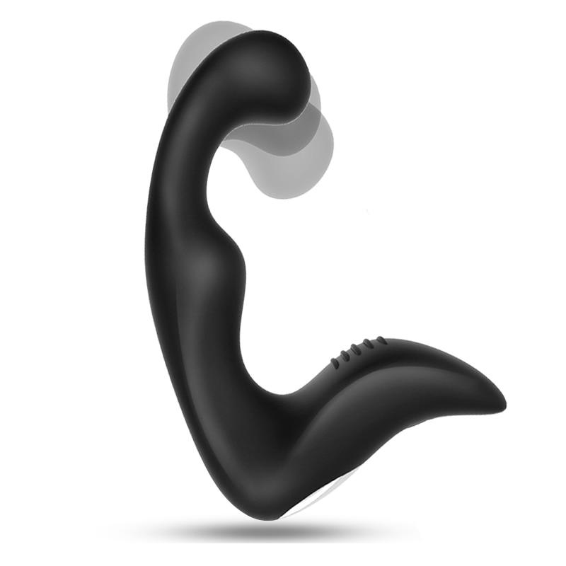 Prostata Massager Anal Plug Vibrator Silikon 10 modi Butt Plug Sex Spielzeug für Männer Masturbator Anal Spielzeug für Erwachsene Wasserdicht