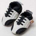 Телячья Кожа Детская Обувь Мальчик Кроссовки Впервые Ходунки Новорожденных Baby Shoes Мокасины Малыш Детская Обувь Baby Boy Дети Тапочки Синий