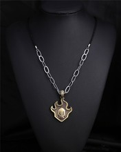 Kurosaki Ichigo False Fire bronze Pendant Necklace