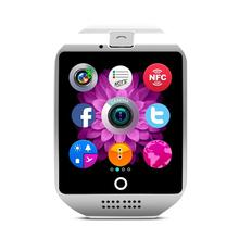 Neue q18 passometer smart watch mit touchscreen kamera tf karte bluetooth smartwatch für android ios telefon t30