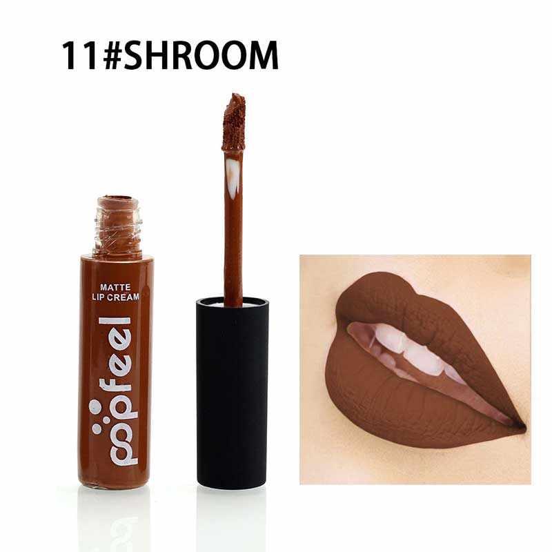 12 צבע מותג Batom מט גלוס לאורך זמן עירום קטיפה שפתיים קרם קעקוע Labiales מט נוזל שפתון קוסמטיקה