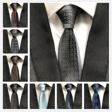 Дизайнерский узкий галстук, индивидуальная панель галстуков, подходящих к рубашке, платье высокого качества, жаккардовый тканый