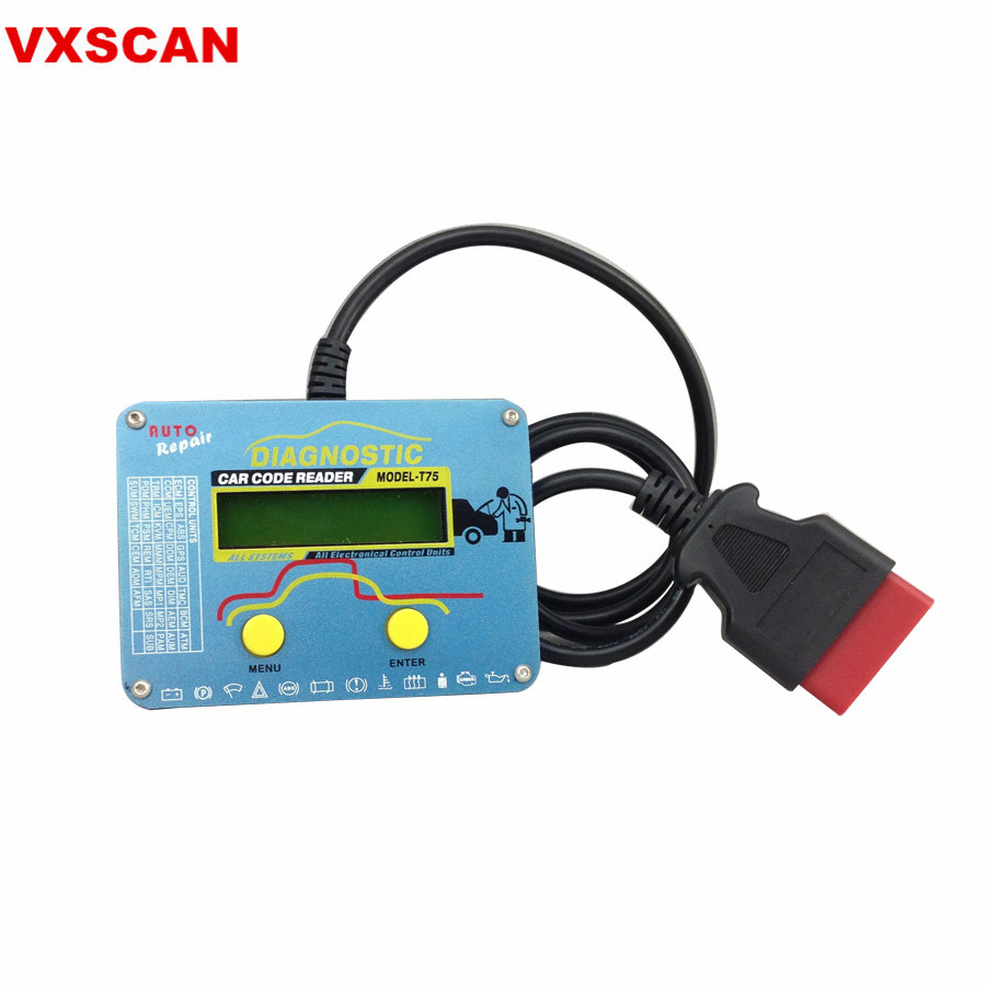 Auto Code Reader T75 for Volvo-in Electrical Testers & Test Leads from Automobiles & Motorcycles on