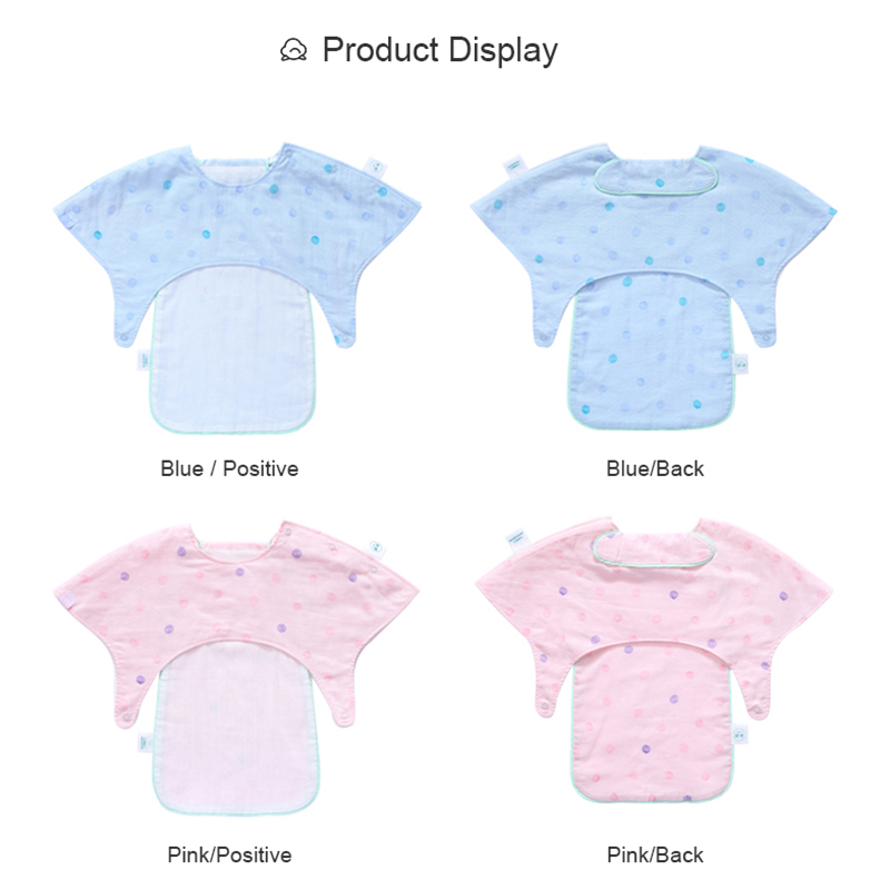 100 Cotton Baby Bibs Burp Cloths Pocke Fashion Spring Summer Season Sweat Absorption Dehumidification Baby Bibs Burp Cloths in Bibs Burp Cloths from Mother Kids