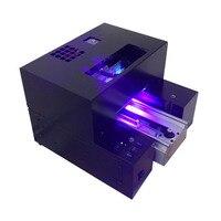 Phone case printing Alumimum alloy plate small UV flatbed printer