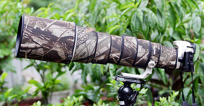 ROLANPRO Lens Clothing Camouflage Rain Cover for Canon EF 500mm F/4.5 L USM Lens Protective Case Camera Lens Protection Sleeve rolanpro lens camouflage rain cover for canon ef 400mm f 4 do is usm lens slr gun clothing protective case guns clothing cotton