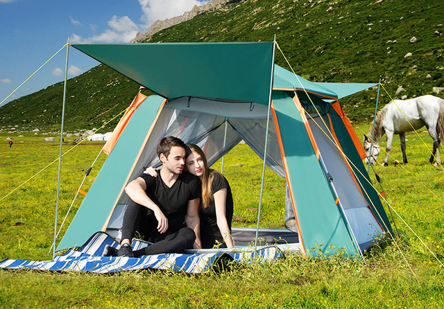 High-End Stainless Steel 5 Person square Tent TXZ-0024 C&ing Tent  sc 1 st  AliExpress.com & High End Stainless Steel 5 Person square Tent TXZ 0024 Camping ...