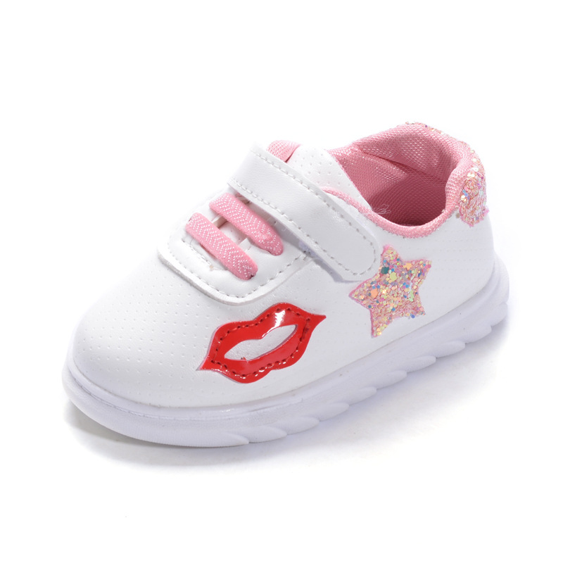2017 new baby toddler shoes cute girl sports shoes baby September wash shoes childrens a ...