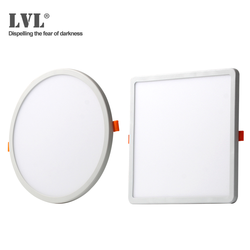 LED Downlight Ultra Thin Round Square Recessed Lamp 6W 8W 15W 20W 220V Indoor Bathroom Ceiling LED Spot Light