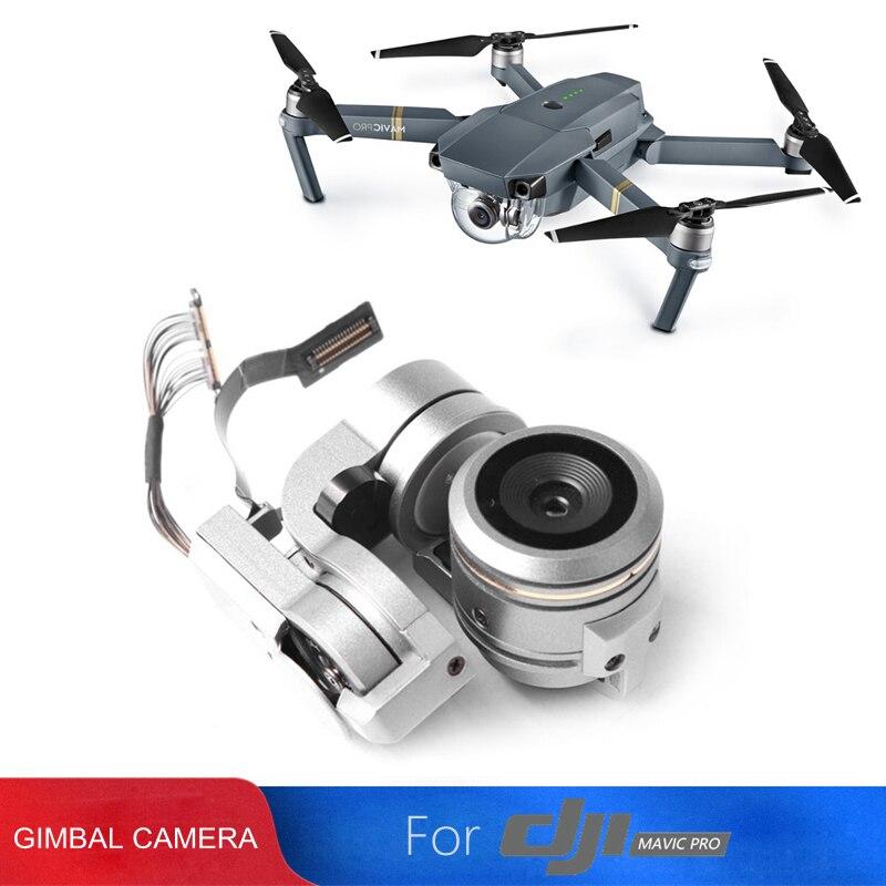 Reparação Peças originais MAVIC PRO Gimbal Camera Lens HD 4 K para Mavic Pro Substituição Câmera Zangão Cardan Cardan DJI acessórios