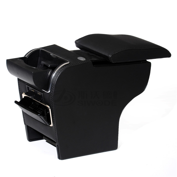 for Jimny car armrest box Special Vehicle Armrest Box  Auto Accessories armrest 9 function with USB hidden cup seat no drilling free punch wooden pu leather special car armrest box with 4 usb hole for peugeot301 citroen elysee smultifunctional car hand box