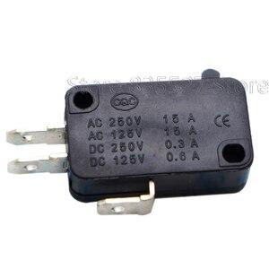 Image 1 - 10 개/몫 대형 마이크로 스위치 V 15 1C25, 실버 포인트 V 15 IC25 전자 레인지, 접촉 스위치, 구리 포인트 택트 스위치