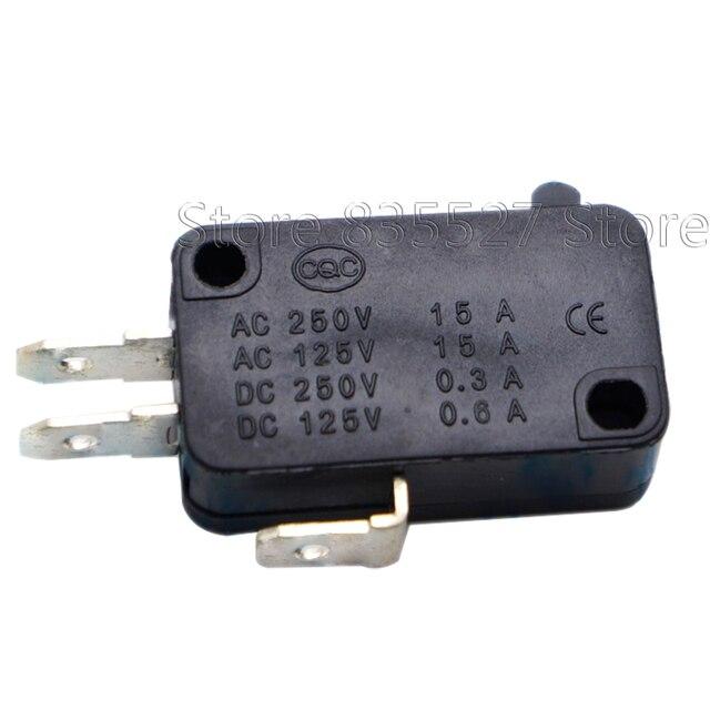 10 개/몫 대형 마이크로 스위치 V 15 1C25, 실버 포인트 V 15 IC25 전자 레인지, 접촉 스위치, 구리 포인트 택트 스위치