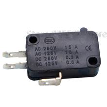 10pcs/lot Large micro switch V 15 1C25, silver point V 15 IC25 microwave oven, contact switch, copper point tact switch