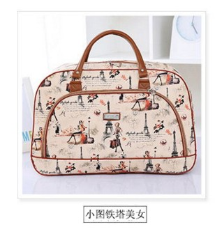 The new men and women leisure package high quality large capacity retro Messenger bag travel travel