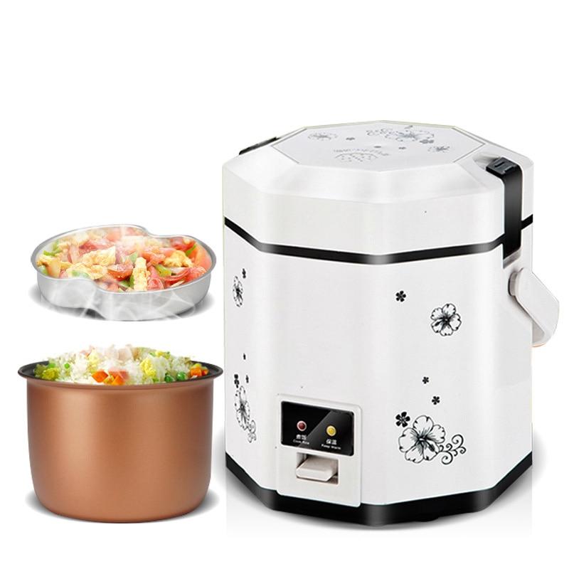 110V / 220V 1.2L mini rice cooker electric cooker-in Rice