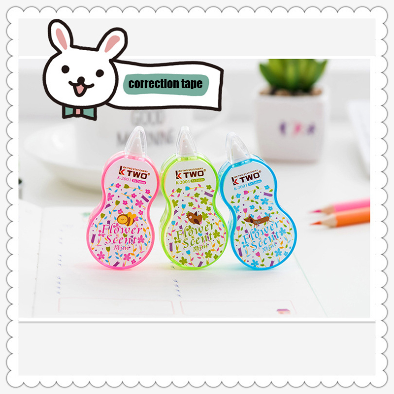 Cute Floral Decoration Correction Tape Kawaii Corrector For School Stationery School Supplies Papeleria Material Escolar