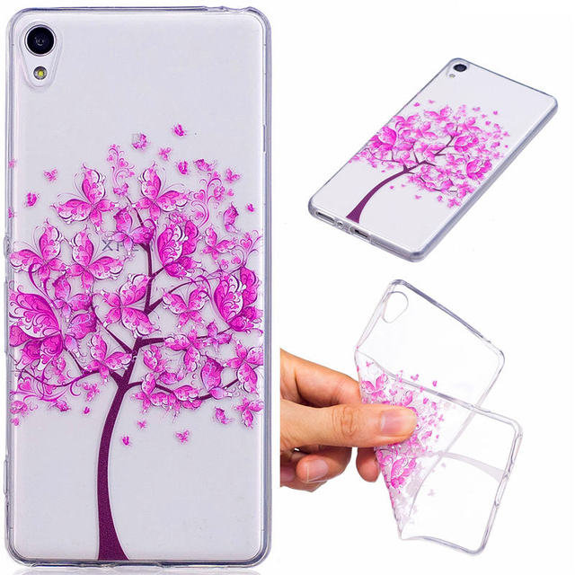outlet store 85098 957eb US $3.49 |For Sony Xperia XA F3112 Silicon Case Transparent Anime Animal  Soft Silicone TPU Skin Back Cover Case for Sony Xperia XA F3116-in Fitted  ...