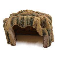 Черепашки рептилии Смола скрытие дома пещера орнамент для аквариума