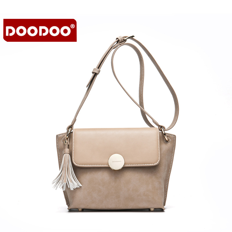 ФОТО DOODOO Lady Real Leather Handbags Cowhide Genuine Leather Bags For Women Crossbody Women Purses And Handbags Bolsa Feminina T623