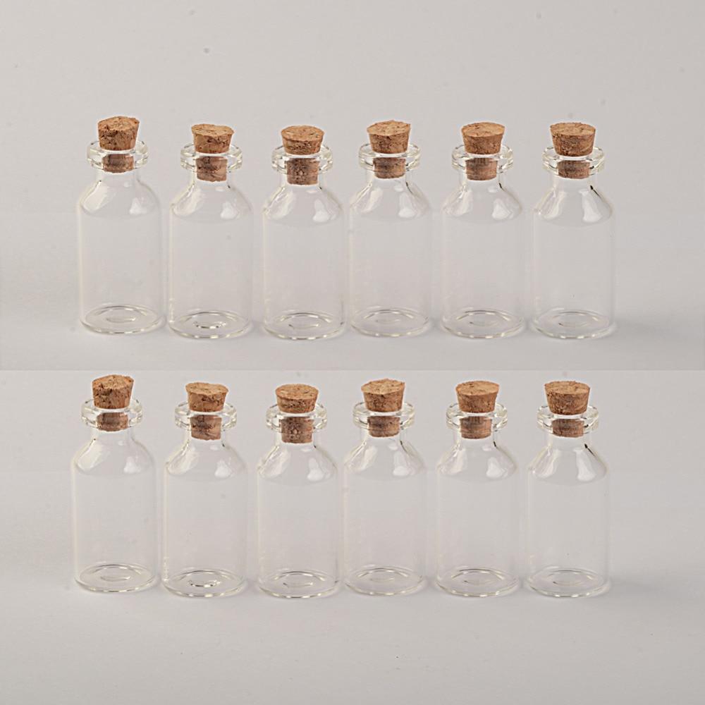 cortiça mini garrafas de vidro vazias tampa