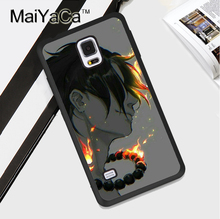 Anime One Piece Ace TPU Cover For Samsung Galaxy S4 S5 S6 S7 Edge S8 plus Case for Note 3 4 5 Cover Soft Protective Case