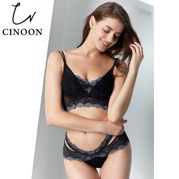 16776fbdf67c CINOON Sexy Bustier y corsé Halter encaje Bodysuit mujer ahueca hacia fuera  mono mameluco Body malla ...