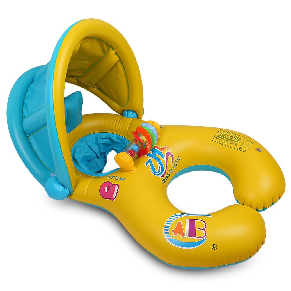 Inflatable Mother Baby Swim Float Ring Kids Seat Double Person Swimming Soft Ring Swimming Floating Circle Babyfloat AccessoriesInflatable Mother Baby Swim Float Ring Kids Seat Double Person Swimming Soft Ring Swimming Floating Circle Babyfloat Accessories