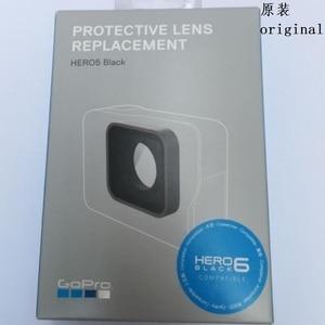 Image 5 - Original Zubehör Für GoPro Hero 7 6 5 4 Schwarz Sport Kamera Front Tür/Frontplatte/UV Filter Glas objektiv/USB Kappe Batterie Abdeckung