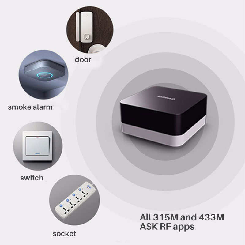 Geeklink Thinker+Sensor Extension Intelligent Controller Router Wifi+4G+IR+RF Remote Controller APP Control Via iOS Android