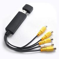 New 4 Channel USB 2 0 DVR Video Audio CCTV Capture Adapter