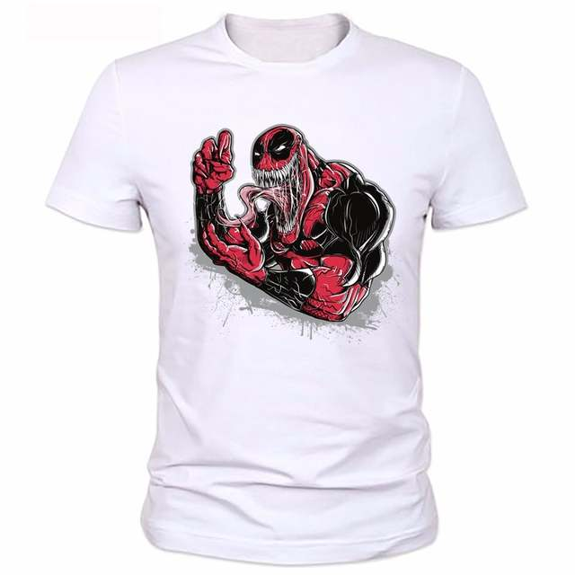 Online Shop 2018 Men Funny Superhero Printed T Shirt New Design