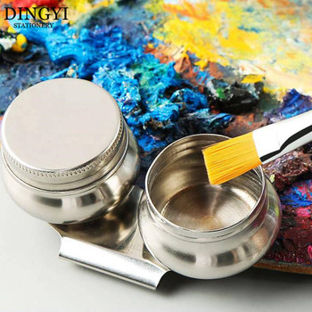 Stainless Steel Drum Painting Palette