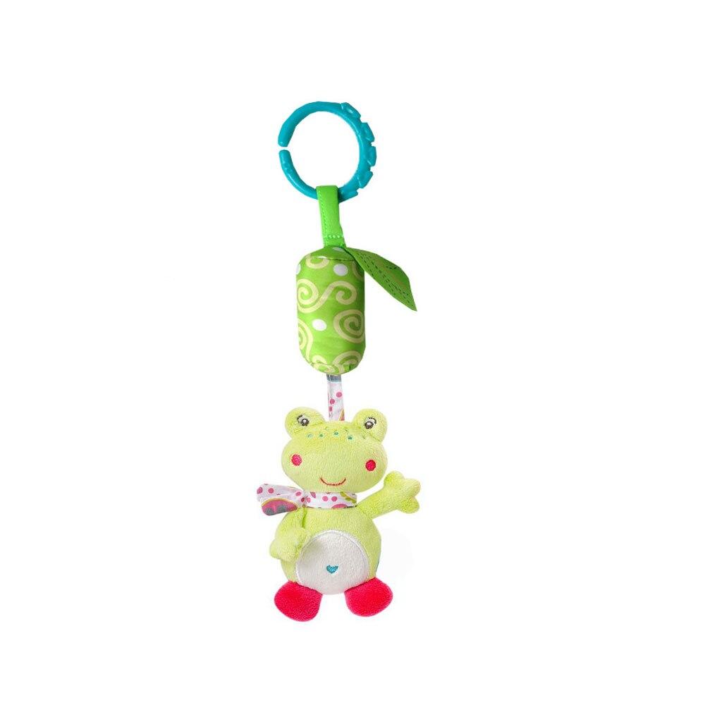 Детские колокольчики Детские Колокольчик погремушка детские висячая погремушка игрушки унисекс Младенцы плюшевая погремушка развивающие игрушки - Цвет: frog