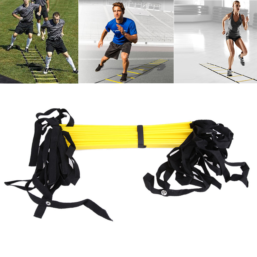 6 8 10 12 Rung Agility Ladder for Soccer Speed Football Fitness Feet Training