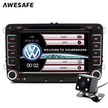 7 inch 2 Din Car DVD GPS Radio Player for Volkswagen VW golf golf 6 touran passat sharan jetta polo tiguan 2din DVD Navigation
