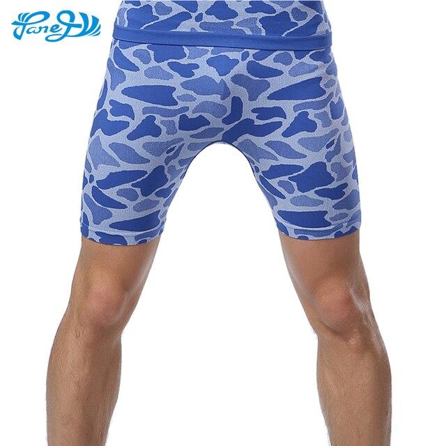 b39268341bb Panegy Hommes Shorts de Course de Débrayage Fitness Bodybuilding Compression  À Séchage Rapide Pantalon Gym Jogger