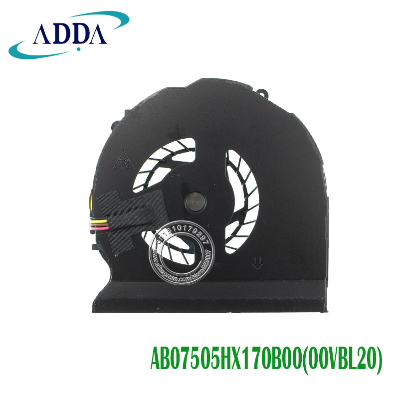 for HP ZBOOK 15 G1 G2 CPU Cooling Fan 734290-001 734289-001 AB07505HX170B00