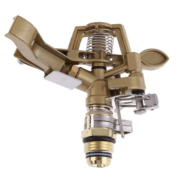 1/2 Inch Water Sprinkler Spray Nozzle Connector Copper Rotate Rocker Arm  Garden Irrigation System