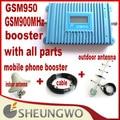 Marketing direto GSM 950 Signal Gain 55Dbi GSM900MHz Cobertura 1000 quadrado com todos os [artes Sunhans signal booster Amplificador 1 lotes