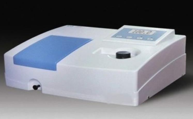 Visible Spectrophotometer Lab Equipment 340-1000 nm 5 nm Digital Display Vis Spectrometer with Software 110V Or 220V