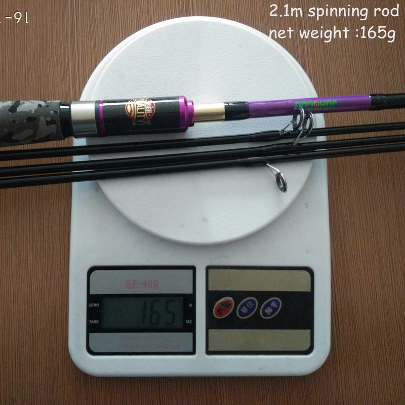 JOHNCOO Fast Action Fishing in Snipping and Casting Type for Catching Large Fishes in Sea and River 7
