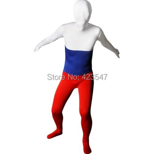 Russia Luckysuits zentai lycra spandex suit