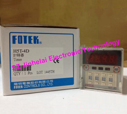 New and original  H5T-4D  FOTEK   Made in Taiwan   220VAC