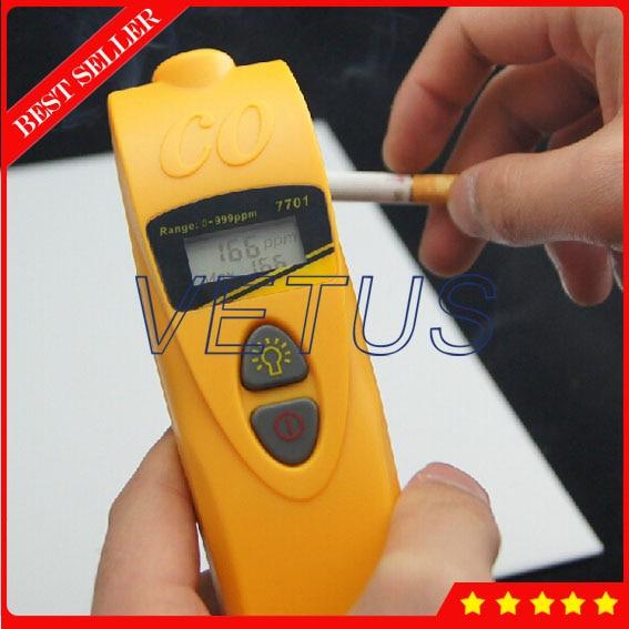 AZ-7701Mini carbon monoxide detector with  Handheld CO detector alarm 0-1000ppm двухкамерный холодильник don r 297 bd
