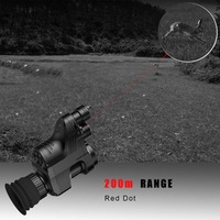 PARD Hunting Tactical Night Vision Red dot Riflescope Day And Night Infrared Monocular Telescopes Video Recorder NV007 Camcorder